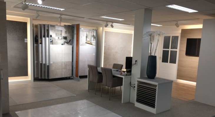 De showroom is verbouwd